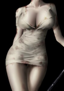 Rating: Questionable Score: 41 Tags: an_yasuri blood cleavage no_bra open_shirt silent_hill User: Mr_GT