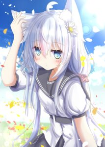 Rating: Questionable Score: 27 Tags: animal_ears aruka_(alka_p1) hibiki_(kancolle) kantai_collection seifuku verniy_(kancolle) User: Mr_GT