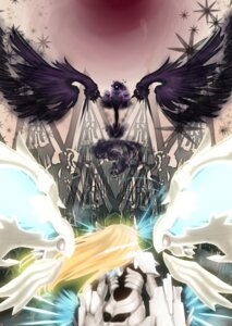 Rating: Safe Score: 15 Tags: armor bodysuit iltusa mecha_musume wings User: syuki144