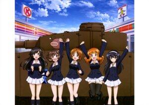 Rating: Safe Score: 13 Tags: akiyama_yukari girls_und_panzer isuzu_hana nishizumi_miho reizei_mako seifuku takebe_saori thighhighs User: drop