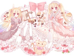 Rating: Safe Score: 26 Tags: animal_ears bunny_ears dress hoshimiya_yume lolita_fashion User: KazukiNanako