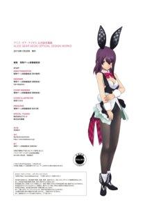 Rating: Questionable Score: 9 Tags: alice_gear_aegis animal_ears bunny_ears bunny_girl cleavage nikotama_mai pantyhose tagme tail User: Radioactive