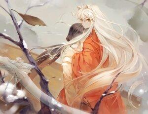 Rating: Safe Score: 32 Tags: animal_ears inuyasha inuyasha_(character) j-rin kikyo kimono miko User: charunetra