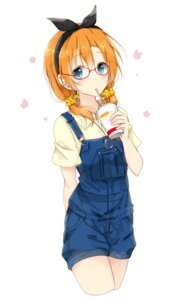 Rating: Safe Score: 40 Tags: kousaka_honoka love_live! megane overalls shiina_kuro User: nphuongsun93