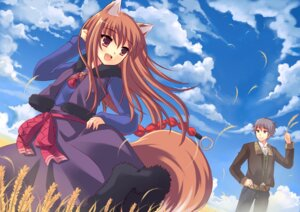Rating: Safe Score: 24 Tags: animal_ears craft_lawrence holo peach spice_and_wolf tail User: thfp