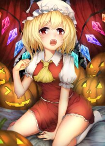 Rating: Safe Score: 29 Tags: flandre_scarlet halloween rokukatamari touhou wings User: Mr_GT