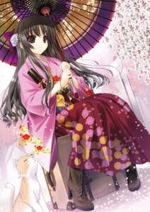 Rating: Safe Score: 74 Tags: kimono neko shintarou User: fireattack