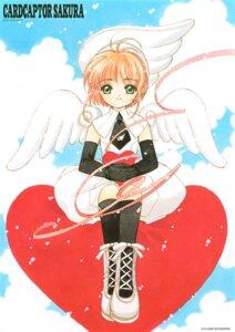 Rating: Safe Score: 5 Tags: card_captor_sakura clamp kinomoto_sakura uniform wings User: Omgix
