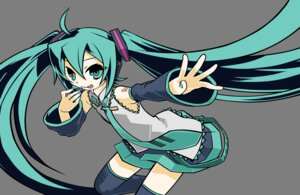 Rating: Safe Score: 6 Tags: hatsune_miku thighhighs transparent_png vector_trace vocaloid User: vxf
