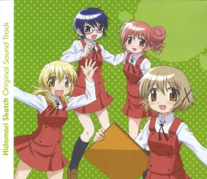 Rating: Safe Score: 3 Tags: hidamari_sketch hiro miyako sae yuno User: Radioactive