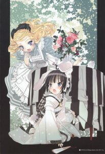 Rating: Safe Score: 19 Tags: alice_blanche animal_ears bunny_ears ikoku_meiro_no_croisee kimono lolita_fashion takeda_hinata yune User: MDGeist