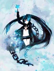Rating: Safe Score: 28 Tags: bikini_top black_rock_shooter black_rock_shooter_(character) kashiwaba_hisano vocaloid User: Nekotsúh