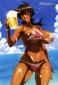 Rating: Questionable Score: 49 Tags: amaha_masane bikini cleavage cream erect_nipples kaneko_hiraku swimsuits tan_lines underboob undressing wet witchblade User: boon