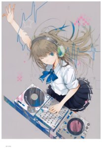 Rating: Safe Score: 27 Tags: fuyuno_haruaki headphones seifuku User: Radioactive