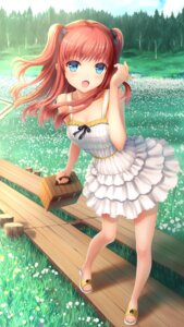 Rating: Safe Score: 72 Tags: cleavage dress lan_xing_luren summer_dress User: KazukiNanako