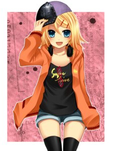 Rating: Safe Score: 19 Tags: kagamine_rin thighhighs vocaloid yayoi User: charunetra