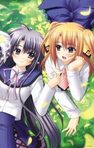 Rating: Safe Score: 17 Tags: freyjalt_fall judgement_chime nishimata_aoi rumine_maple User: Kalafina