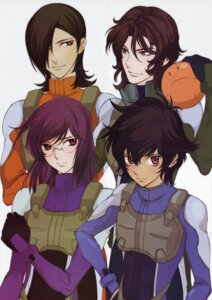 Rating: Safe Score: 5 Tags: allelujah_haptism gundam gundam_00 haro kouga_yun lockon_stratos male neil_dylandy setsuna_f_seiei tieria_erde User: Radioactive