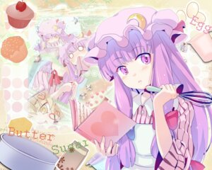 Rating: Safe Score: 20 Tags: patchouli_knowledge touhou wallpaper yuko_(pixiv862266) User: Silvance
