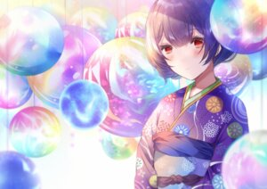 Rating: Safe Score: 9 Tags: kimono morino_rinze namamake the_idolm@ster the_idolm@ster_shiny_colors User: Arsy