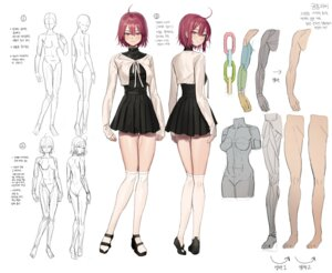 Rating: Questionable Score: 27 Tags: character_design dress freng sketch tagme thighhighs User: Dreista