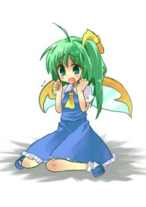 Rating: Safe Score: 5 Tags: daiyousei dress touhou usa-pom User: Radioactive