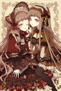 Rating: Safe Score: 27 Tags: lolita_fashion nobuyo_ninomiya thighhighs User: Radioactive