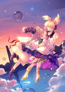 Rating: Safe Score: 16 Tags: kaze_yetworldview mononobe_no_futo touhou toyosatomimi_no_miko User: Randeel
