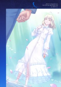 Rating: Safe Score: 9 Tags: dress fate/stay_night nishiwaki_dat saber type-moon User: fireattack