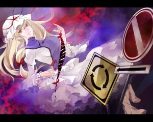Rating: Safe Score: 4 Tags: ritz touhou wallpaper yakumo_yukari User: Radioactive