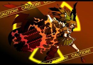 Rating: Safe Score: 7 Tags: armored_core naginami reiuji_utsuho touhou wings User: NeoReaper