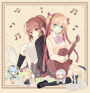 Rating: Safe Score: 21 Tags: air angel_beats! chibi crossover disc_cover fumuyun guitar harmonia hoshino_yumemi kamikita_komari kamio_misuzu key little_busters! natsume_rin planetarian seifuku shiona_(harmonia) skirt_lift sweater tenshi User: marechal