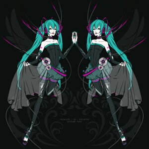 Rating: Safe Score: 4 Tags: ak hatsune_miku vocaloid User: charunetra