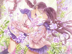 Rating: Safe Score: 14 Tags: guchico megane seifuku yuri User: blooregardo