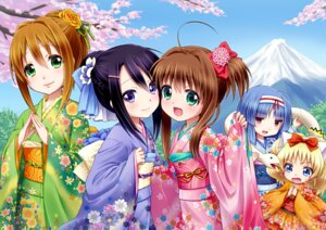 Rating: Safe Score: 17 Tags: alma_(jewelpet_tinkle) jewelpet jewelpet_twinkle kimono miria_marigold_mackenzie sakura_akari sakura_monica sara_(jewelpet_twinkle) yuu_(derodero) User: Radioactive