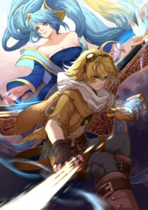Rating: Safe Score: 19 Tags: armor citemer cleavage dress ezreal league_of_legends sona_buvelle User: charunetra
