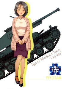 Rating: Safe Score: 11 Tags: girls_und_panzer heels piyotan sweater tagme User: drop