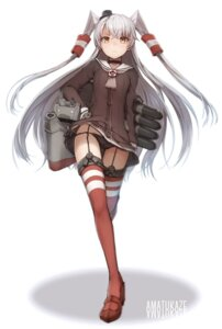 Rating: Safe Score: 119 Tags: amatsukaze_(kancolle) kantai_collection pantsu stockings string_panties thighhighs tomari User: KazukiNanako