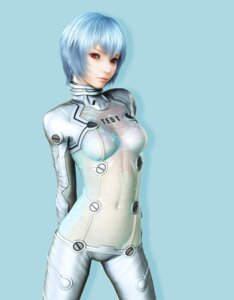 Rating: Questionable Score: 70 Tags: ayanami_rei bodysuit cg ikedan neon_genesis_evangelion see_through User: zero|fade