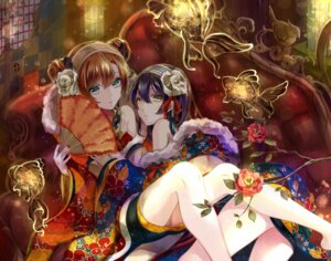 Rating: Safe Score: 45 Tags: japanese_clothes kousaka_honoka love_live! sonoda_umi yache User: Mr_GT