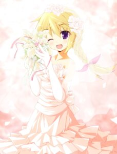 Rating: Safe Score: 32 Tags: charlotte_dunois dress infinite_stratos kamisaki_sora wedding_dress User: Mr_GT