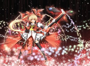 Rating: Safe Score: 11 Tags: crossover flandre_scarlet guilty_gear gun sutagu thighhighs touhou User: Radioactive