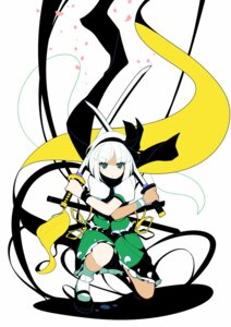 Rating: Safe Score: 25 Tags: ideolo konpaku_youmu sword touhou User: WtfCakes