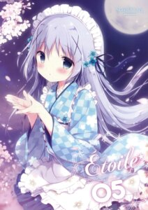 Rating: Safe Score: 65 Tags: gochuumon_wa_usagi_desu_ka? kafuu_chino maid shiratama shiratamaco wa_maid User: Twinsenzw