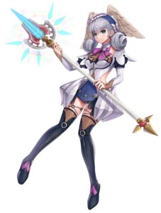Rating: Safe Score: 16 Tags: garter gonzarez melia thighhighs weapon wings xenoblade xenoblade_chronicles User: darkmetaknight9