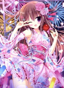 Rating: Questionable Score: 77 Tags: hasune lolita_fashion nopan thighhighs wa_lolita User: drop
