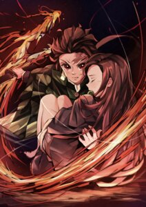 Rating: Safe Score: 10 Tags: japanese_clothes kimetsu_no_yaiba to_gemichi User: Mr_GT