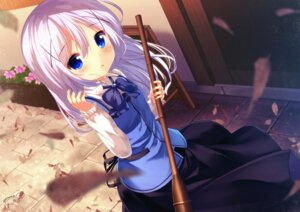 Rating: Safe Score: 41 Tags: chinomaron gochuumon_wa_usagi_desu_ka? kafuu_chino waitress User: aaayu