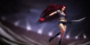 Rating: Safe Score: 7 Tags: cleavage katarina_du_couteau league_of_legends sword tagme User: Radioactive