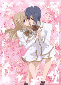 Rating: Safe Score: 19 Tags: konohana_hikari ootori_amane sakai_kyuuta seifuku strawberry_panic yuri User: Radioactive